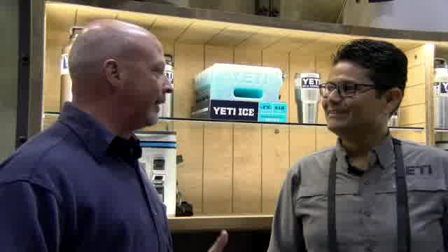 From the 2016 ICAST Show, Lynn Burkhead reports on new YETI products, including the Hopper Flip 12.